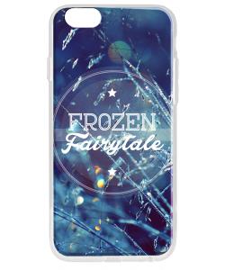 Frozen Fairytale - iPhone 6 Carcasa Transparenta Silicon