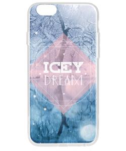 Icey Dream - iPhone 6 Carcasa Transparenta Silicon