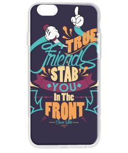True Friends - iPhone 6 Carcasa Transparenta Silicon
