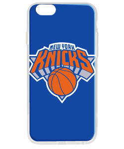 New York Knicks - iPhone 6 Plus Carcasa Transparenta Silicon