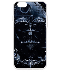 Darth Vader - iPhone 6 Plus Carcasa Transparenta Silicon