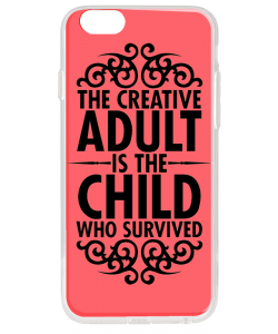 Creative Child - iPhone 6 Plus Carcasa Transparenta Silicon