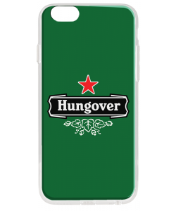 Hungover - iPhone 6 Plus Carcasa Transparenta Silicon