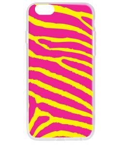 Model Zebra - iPhone 6 Carcasa Transparenta Silicon