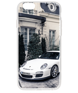 Porsche - iPhone 6 Plus Carcasa Transparenta Silicon