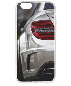 Mercedes C63 - iPhone 6 Plus Carcasa Transparenta Silicon