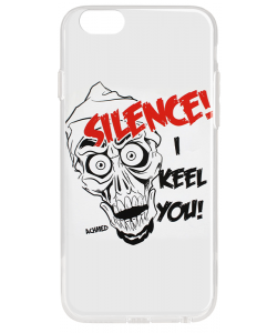 Silence I Keel You - iPhone 6 Plus Carcasa Transparenta Silicon