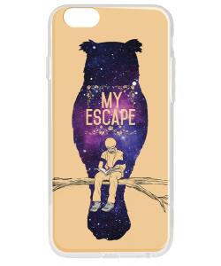 My Escape - iPhone 6 Carcasa Transparenta Silicon