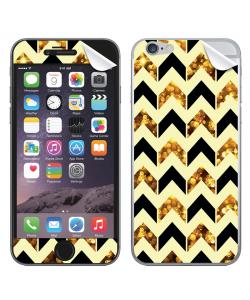 Black & Gold - iPhone 6 Skin