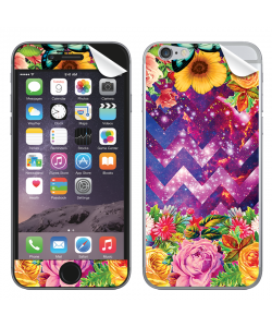 Universal Flowers - iPhone 6 Plus Skin