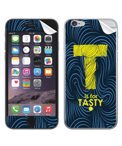 T is for Tasty - iPhone 6 Skin