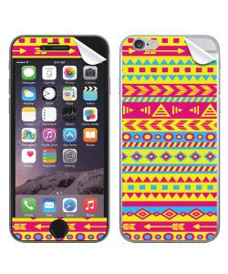 Yellow Frenzy - iPhone 6 Plus Skin