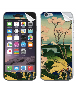 Hokusai - The Fuji from Gotenyama at Shinagawa on the Tokaido - iPhone 6 Skin