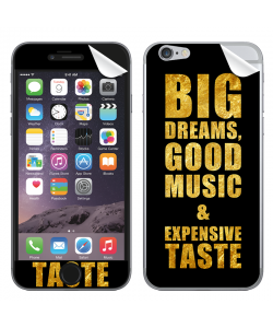 Good Music Black - iPhone 6 Plus Skin