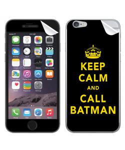 Keep Calm and Call Batman - iPhone 6 Skin