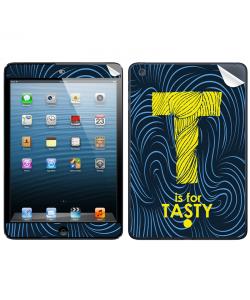 T is for Tasty - Apple iPad Mini Skin