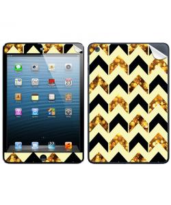Black & Gold - Apple iPad Mini Skin