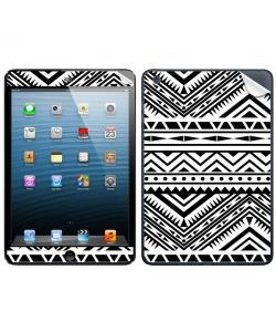 Tribal Black & White - Apple iPad Mini Skin