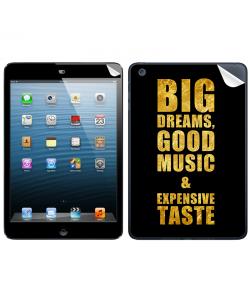 Good Music Black - Apple iPad Mini Skin