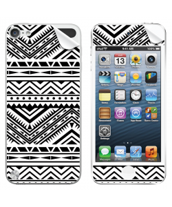 Tribal Black & White - Apple iPod Touch 5th Gen Skin