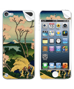 Hokusai - The Fuji from Gotenyama at Shinagawa on the Tokaido - Apple iPod Touch 5th Gen Skin