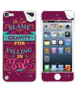 Falling in Love - Apple iPod Touch 5th Gen Skin