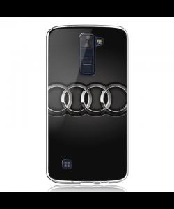 Audi - LG K8 2017 Carcasa Transparenta Silicon