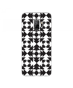 Black or White - Samsung Galaxy S9 Carcasa Transparenta Silicon
