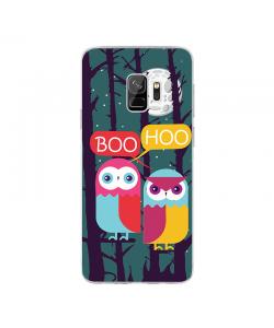 Boo Hoo 2 - Samsung Galaxy S9 Carcasa Transparenta Silicon