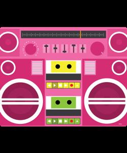 Boombox - iPhone 6 Plus Carcasa TPU Premium Neagra