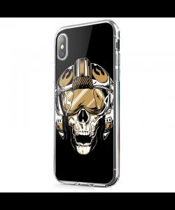 Born to be Wild - iPhone X Carcasa Transparenta Silicon