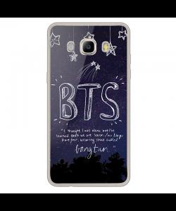 BTS - Samsung Galaxy J7 2017 Carcasa Transparenta Silicon