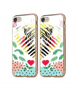 In the Jungle - iPhone 6/6S Carcasa Transparenta Silicon