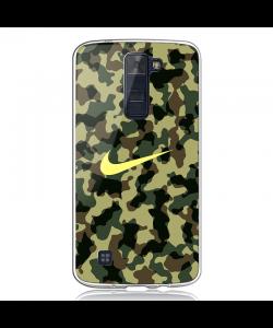 Camo Nike - LG K8 2017 Carcasa Transparenta Silicon
