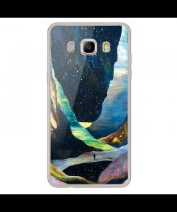 Canyon - Samsung Galaxy J7 Carcasa Silicon Transparent