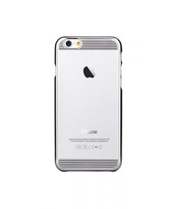 Brightness Silver - Comma Carcasa iPhone 6 Plus TPU (rama electroplacata)