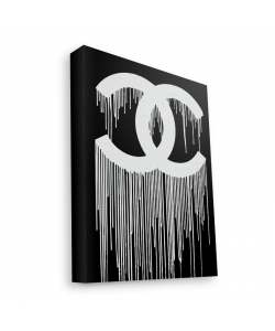 Chanel Drips - Canvas Art 35x30