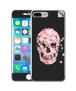 Cherry Blossom Skull - iPhone 7 Plus Skin