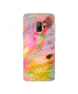 Colored Paper - Samsung Galaxy S9 Carcasa Transparenta Silicon