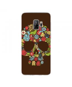 Cranium of the Earth - Samsung Galaxy S9 Carcasa Transparenta Silicon