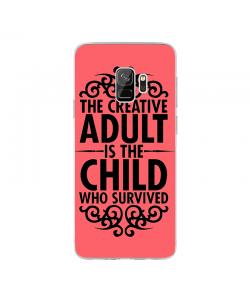 Creative Child - Samsung Galaxy S9 Carcasa Transparenta Silicon