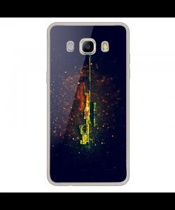 CS Go 2 - Samsung Galaxy J7 2017 Carcasa Transparenta Silicon