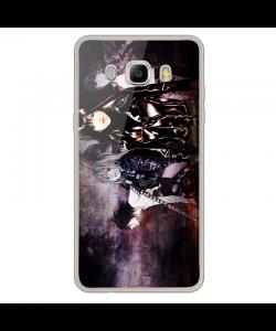 Death Note - Samsung Galaxy J7 2017 Carcasa Transparenta Silicon