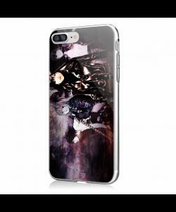 Death Note - iPhone 7 Plus / iPhone 8 Plus Carcasa Transparenta Silicon