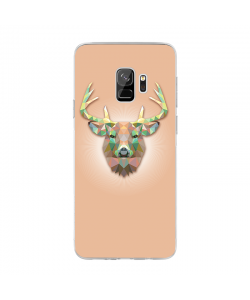 Deer - Samsung Galaxy S9 Carcasa Transparenta Silicon