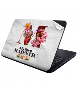 M is for Majestic 2 - Laptop Generic Skin