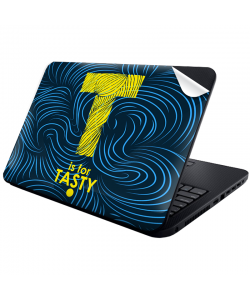 T is for Tasty - Laptop Generic Skin