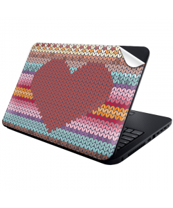 Hearts and Tulips - Laptop Generic Skin