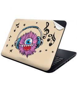 Fluffy Headphones - Laptop Generic Skin