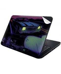Night Ride - Laptop Generic Skin